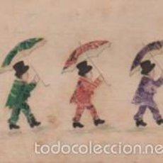 Sellos: RAREZA - TARJETA POSTAL CONFECIONADA - COLAGE - CON SELLOS DE CORREOS - EDITOR PAX. Lote 55238181