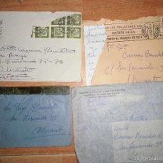 Sellos: LOTE CARTAS Y SOBRES ALICANTE FAMILIA PAYA DE FABRICA NTES DE JUGUETES. Lote 56974547
