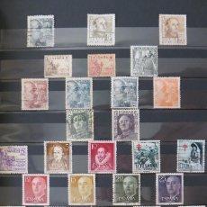 Sellos: 300 SELLOS USADOS ESPAÑA CLASIFICADOS Y ORDENADOS CON VALENCIA Y ALGUNAS COLONIAS (1948-2008). Lote 58334798