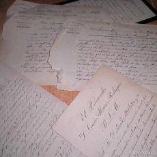Sellos: LOTE CARTAS MANUSCRITAS SIGLO XIX MADRID 1897. Lote 58611473