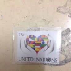 Sellos: SELLO NACIONES UNIDAS 25 CENTAVOS. Lote 58672232