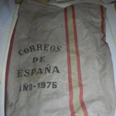 Sellos: (M) SACA DE CORREOS ESPAÑA AÑO 1976 - 85 X 60 CM, SEÑALES DE USO. Lote 170520608