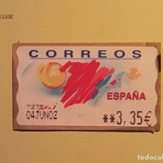 Sellos: ATMS - ETIQUETAS CORREOS - TURISMO - MODELO T48. Lote 74041451