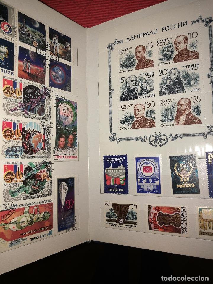 Sellos: Album con sellos de rusia - Foto 3 - 47597403