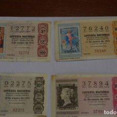 Sellos: LOTERIA 1975 FILATELIA. Lote 80470681