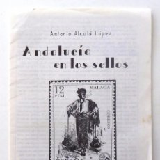 Timbres: ANDALUCIA A TRAVES DE LOS SELLOS. CIRCULO FILATELICO DE MALAGA. 1984.. Lote 81677996