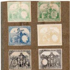 Sellos: NUM016 LOTE DE 8 SELLOS FISCALES. ESPAÑA. DE 1886 A 1887. Lote 86106664