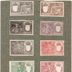Sellos: NUM022 LOTE DE 10 SELLOS FISCALES. ESPAÑA. DE 1898 A 1900. Lote 86108900
