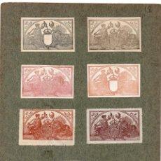 Sellos: NUM024 LOTE DE 7 SELLOS FISCALES. ESPAÑA. PRINC. S. XX. Lote 86109716