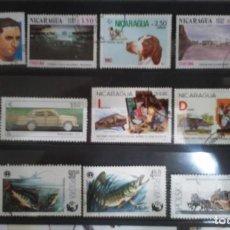 Sellos: SELLOS DE POLONIA Y NICARAGUA. Lote 87617776