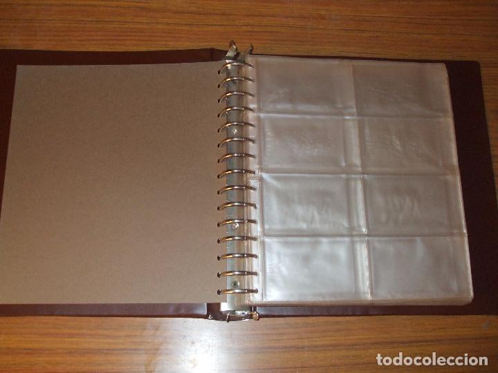 Sellos: .Oferta tapa level con 40 hojas level 16 huecos (para Once o Lotería) en 2 caras usada, ver + fotos - Foto 2 - 148991020