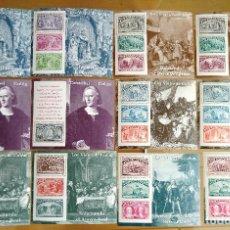 Sellos: 2 JUEGOS HOJAS BLOQUE LOS VIAJES DE COLON 1992. Lote 94461290