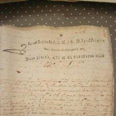 Sellos: PAPEL FISCAL HABILITADO JOSE NAPOLEON AÑO 1811 SELLO 4º DE 40 MARAVEDIS TIMBROLOGIA , INDEPENDENCI. Lote 94524018