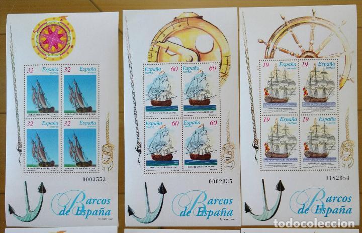 Sellos: 2 JUEGOS BARCOS DE ÉPOCA AÑOS 1995,1996 Y 1997 MAS PRUEBAS DE ARTISTA AÑO 1995 - Foto 4 - 94556927
