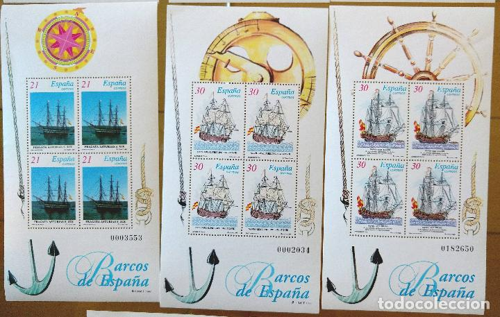 Sellos: 2 JUEGOS BARCOS DE ÉPOCA AÑOS 1995,1996 Y 1997 MAS PRUEBAS DE ARTISTA AÑO 1995 - Foto 5 - 94556927