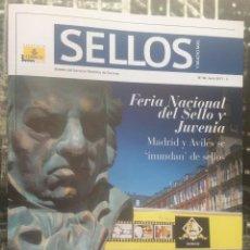 Sellos: REVISTA 'SELLOS', Nº 48. JUNIO 2017. FERIA NACIONAL DEL SELLO Y JUVENIA EN PORTADA. NUEVO.. Lote 97200307