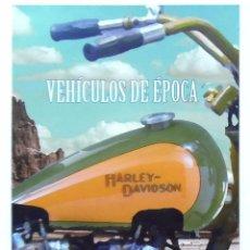Sellos: HARLEY DAVISON MOTO DIPTICO INFORMATIVO SELLOS DE CORREO AÑO 2014, VER FOTO ADICIONAL. Lote 100435763