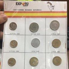 Sellos: COLECCION MONEDAS ESPAÑOLA EN LA EXPO SEVILLA 92 - 3. Lote 100543323