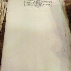 Sellos: PAPEL SELLADO TIMBRADO FISCAL AÑO 1831 FERNANDO VII SELLO OFICIO 4 MARAVEDIES TIMBROLOGIA ,EN BLANCO. Lote 100634135