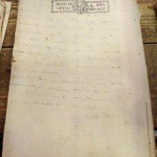 Sellos: PAPEL SELLADO TIMBRADO FISCAL AÑO 1826 FERNANDO VII SELLO OFICIO 4 MARAVEDIES TIMBROLOGIA ,EN BLANCO. Lote 100634939
