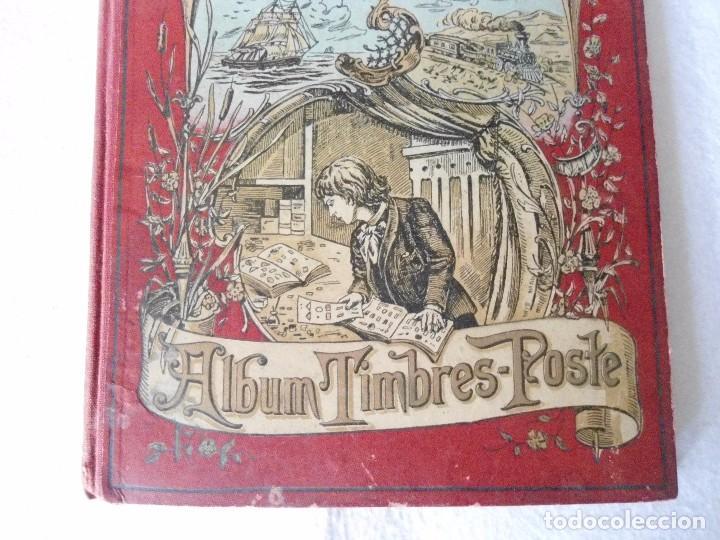 Sellos: ANTIGUO ALBUN TIMBRES-POSTE FINALES SIGLO XIX - Foto 2 - 100722279