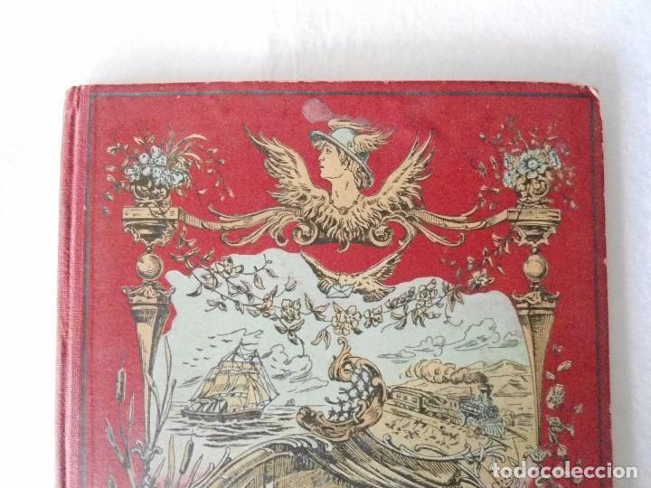 Sellos: ANTIGUO ALBUN TIMBRES-POSTE FINALES SIGLO XIX - Foto 3 - 100722279