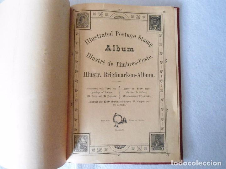 Sellos: ANTIGUO ALBUN TIMBRES-POSTE FINALES SIGLO XIX - Foto 9 - 100722279