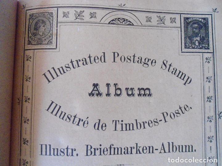 Sellos: ANTIGUO ALBUN TIMBRES-POSTE FINALES SIGLO XIX - Foto 10 - 100722279