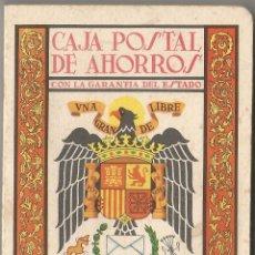 Timbres: CAJA POSTAL DE AHORROS - ALMANAQUE 1966. Lote 101473643