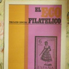 Sellos: REVISTA FILATÉLICA - ECO FILATÉLICO - Nº 525 - AÑO 1969 - . Lote 103172527