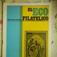 Sellos: REVISTA FILATÉLICA - ECO FILATÉLICO - Nº 523 - 15 DE MARZO DE 1969 - . Lote 103350643