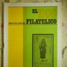 Sellos: REVISTA FILATÉLICA - ECO FILATÉLICO NUMISMÁTICO - Nº 531 - 5 DE AGOSTO DE 1969 - . Lote 103350695