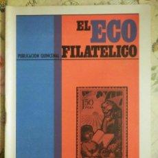 Sellos: REVISTA FILATÉLICA - ECO FILATÉLICO NUMISMÁTICO - Nº 528 - 1ª DE JUNIO DE 1969 - . Lote 103350791