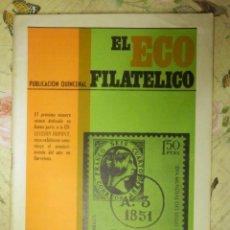 Sellos: REVISTA FILATÉLICA - ECO FILATÉLICO NUMISMÁTICO - Nº 525 - 15 DE ABRIL DE 1969 - . Lote 103350835