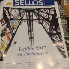 Sellos: REVISTA 'SELLOS', Nº 49. SEPTIEMBRE 2017. EXFILNA PORTUGALETE 2017 EN PORTADA. NUEVO.. Lote 105499707
