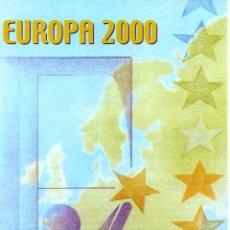 Sellos: ESPAÑA.- FOLLETO DE INFORMACIÓN FILATÉLICA Nº 10/2000.- EUROPA 2000. Lote 115104651