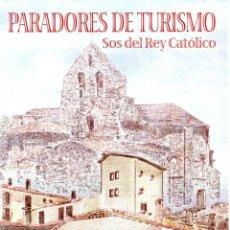 Sellos: ESPAÑA.- FOLLETO DE INFORMACIÓN FILATÉLICA Nº 6/2000.- PARADORES DE TURÍSMO. Lote 115104859