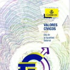 Sellos: ESPAÑA.- FOLLETO DE INFORMACIÓN FILATÉLICA AÑO 2013.- VALORES CÍVICOS. Lote 115109539
