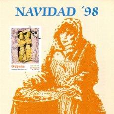 Sellos: ESPAÑA.- FOLLETO DE INFORMACIÓN FILATÉLICA Nº 31/1998.- NAVIDAD. Lote 115385131
