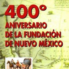 Sellos: ESPAÑA.- FOLLETO DE INFORMACIÓN FILATÉLICA Nº 32/1998.- ANIVERSARIO DE LA FUNDACIÓN DE NUEVO MÉXICO. Lote 115385263
