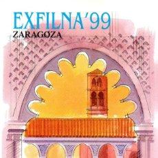 Sellos: ESPAÑA.- FOLLETO DE INFORMACIÓN FILATÉLICA Nº 6/1999.- EXFILNA 99. Lote 115401027