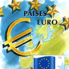 Sellos: ESPAÑA.- FOLLETO DE INFORMACIÓN FILATÉLICA Nº 12/1999.- PAISES EURO. Lote 115402247