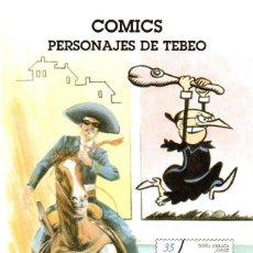 Sellos: ESPAÑA.- FOLLETO DE INFORMACIÓN FILATÉLICA Nº 14/1999.- COMIC. PERSONAJES DE TEBEO. Lote 115402663