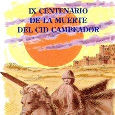 Sellos: ESPAÑA.- FOLLETO DE INFORMACIÓN FILATÉLICA Nº 19/1999.- CENTENARIO DE LA MUERTE DEL CID. Lote 115403795