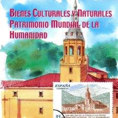 Sellos: ESPAÑA.- FOLLETO DE INFORMACIÓN FILATÉLICA Nº 24/1999.- BIENES CULTURALES Y NATURALES. Lote 115404767