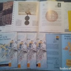 Sellos: DOCUMENTOS FILATELICOS N°15 N°16 N°17 + 4 DOCUMENTOS FILATELICO OLYMPHIEX 92. Lote 115712851