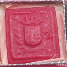 Sellos: MUY INTERESANTE SELLO ANTIGUO AGNUS EN CERA. SANTA MARIA DEL MAR. BARCELONA.. Lote 116284727