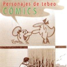 Sellos: ESPAÑA.- FOLLETO DE INFORMACIÓN FILATÉLICA Nº 12/2000.- COMICS. Lote 116758223