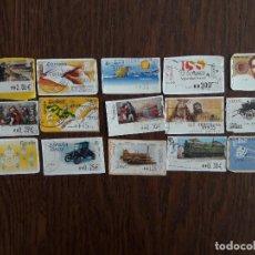Sellos: LOTE DE 15 SELLOS ES ESPAÑA ATMS. Lote 117678423