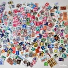 Sellos: EXCELENTE LOTE DE 1125 SELLOS DE TODO EL MUNDO FRANQUEADOS. Lote 122825711